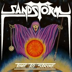 Sandstorm - Time To Strike - LP