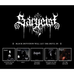 Sargeist - Black Devotion Will Let The Devil In - 5CD BOX