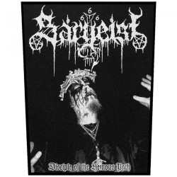Sargeist - Disciple Of The Heinous Path - BACKPATCH
