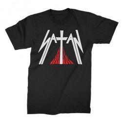 Satan - Kiss of Death - T-shirt (Homme)