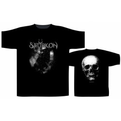 Satyricon - Black Crow And A Tombstone - T-shirt (Men)