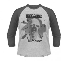 Scorpions - Black Out - BASEBALL LONGSLEEVE (Men)