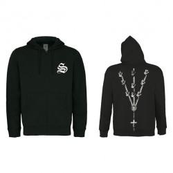 Sektarism - Chapelet Discipline - Hooded Sweat Shirt Zip (Homme)