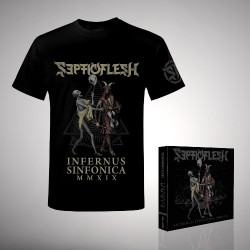 Septicflesh - Bundle 1 - 2CD + DVD digipak + T-Shirt bundle (Homme)