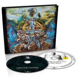 Sepultura - Machine Messiah [LTD edition] - CD + DVD digibook