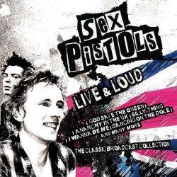 Sex Pistols - Live & Loud - CD
