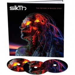 SikTh - The Future In Whose Eyes? - 3CD EARBOOK