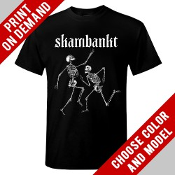 Skambankt - Dancing Skeletons - Print on demand