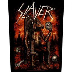 Slayer - Devil On Throne - BACKPATCH