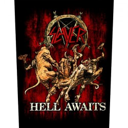 Slayer - Hell Awaits - BACKPATCH