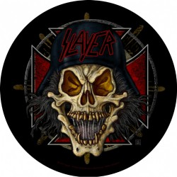 Slayer - Wehrmacht Circular - BACKPATCH