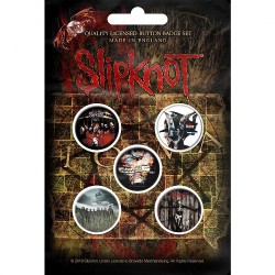 Slipknot - Albums - BUTTON BADGE SET