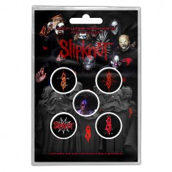 Slipknot - We Are Not Your Kind - BUTTON BADGE SET
