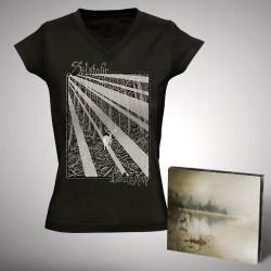 Solstafir - Berdreyminn - CD DIGIPAK + T-shirt V-neck bundle (Femme)