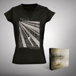 Solstafir - Berdreyminn - Digibox + T-shirt V-neck bundle (Femme)