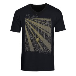 Solstafir - Berdreyminn [Gold Print] - T-shirt V-neck (Homme)