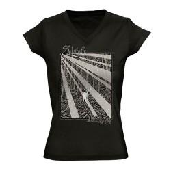Solstafir - Berdreyminn - T-shirt V-neck (Femme)