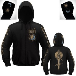 Solstafir - Sword and Twilight - Hooded Sweat Shirt Zip (Homme)