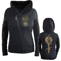 Solstafir - Sword and Twilight - Hooded Sweat Shirt Zip (Femme)