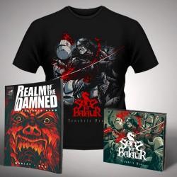 Sons Of Balaur - Bundle 8 - CD Digipak + Comic book + T-shirt (Men)