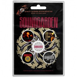 Soundgarden - Badmotorfinger - BUTTON BADGE SET