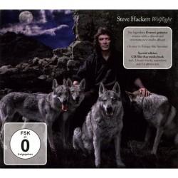 Steve Hackett - Wolflight - CD + Blu-ray digibook