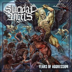 Suicidal Angels - Years Of Aggression - CD DIGIPAK