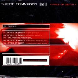 Suicide Commando - Face of Death - CD single