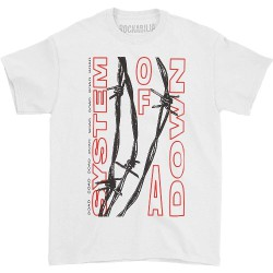 System Of A Down - Barbed Wire - T-shirt (Homme)