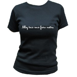 Tamtrum - Allez Tous Vous Faire Mettre. - T-shirt (Women)