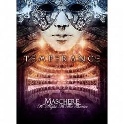 Temperance - Maschere - A Night At The Theater - CD + DVD DIGIPAK A5