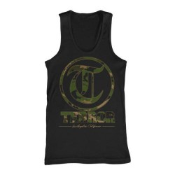 Terror - Camo (Black) - T-shirt Tank Top (Men)