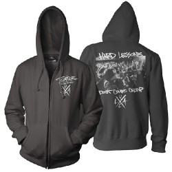 Terror - Hard Lessons - Hooded Sweat Shirt Zip (Men)