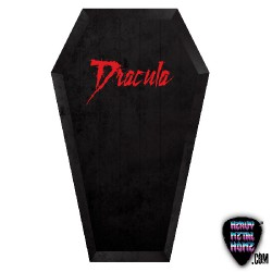 Terror & Horror - Dracula Coffin - Beach Towel