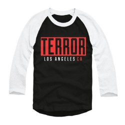 Terror - l.A. - Baseball Shirt 3/4 Sleeve (Men)