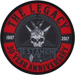 Testament - Legacy 30 Year Anniversary - Patch