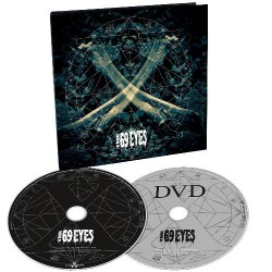 The 69 Eyes - X - CD + DVD Digipak