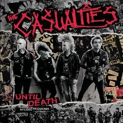 The Casualties - Until Death - Studio Sessions - LP