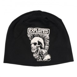 The Exploited - Mohican Skull - Beanie Hat