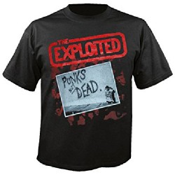 The Exploited - Punks Not Dead - T-shirt (Men)