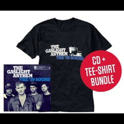 The Gaslight Anthem - The '59 Sound LTD Edition - CD + T-shirt bundle (Men)