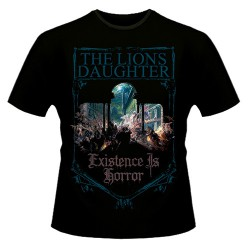 The Lion's Daughter - Existence Is Horror - T-shirt (Homme)