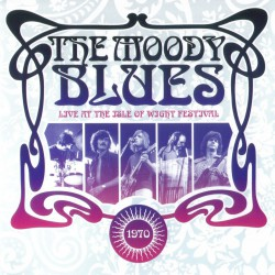 The Moody Blues - Live At The Isle Of Wight Festival 1970 - DOUBLE LP Gatefold
