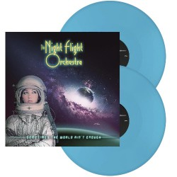 The Night Flight Orchestra - Sometimes The World Ain't Enough - DOUBLE LP GATEFOLD COLOURED