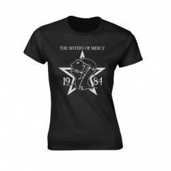 The Sisters Of Mercy - 1984 - T-shirt (Femme)