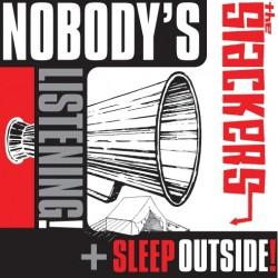The Slackers - Nobody's Listening / Sleep Outside - Mini LP