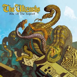 The Wizards - Rise Of The Serpents - LP Gatefold Coloured
