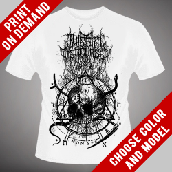 This Gift Is A Curse - Skull - Print on demand