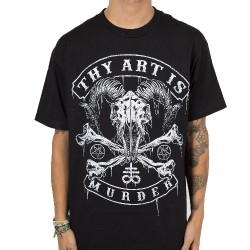 Thy Art Is Murder - Baphomet Skull - T-shirt (Homme)