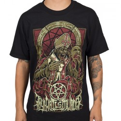 Thy Art Is Murder - Evil Pope - T-shirt (Homme)